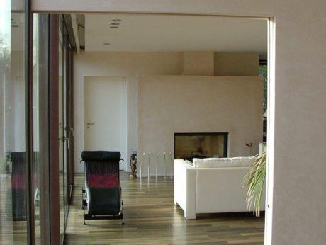 maison contemporaine stuc marmorin