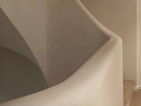 stuc contemporain a coeur de chaux