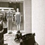Chaux dans magasin de vêtement